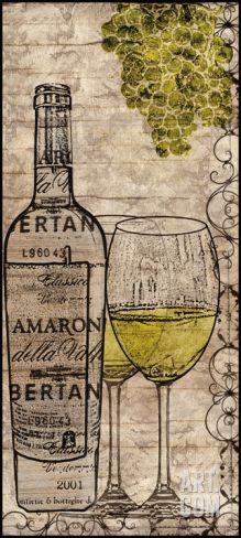 White Wine Print
