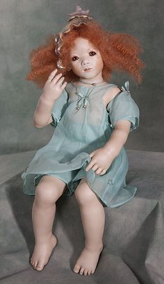 Annette Himstedt Vinyl Dolls, Porcelain Dolls & Artist's Proof at The Toy Shoppe Annette Himstedt, Vinyl Dolls, Freckles, Redheads, Pin Up, Disney Characters, Fictional Characters, That Look, Cosplay