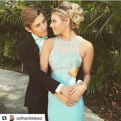 **Customer Spotlight!** our customer @xofrankkiexo looks so gorgeous for prom! Thank you for allowing French Novelty to be a part of your special day!   #frenchnovelty #prom2017 #jacksonvilleprom #promdress #customerappreciation  #Repost @xofrankkiexo with @repostapp ・・・ I adore you // #prom2k17