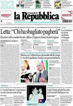 """Italië: """"Letta: """"Degenen die fout zaten, zullen boeten'"""""""
