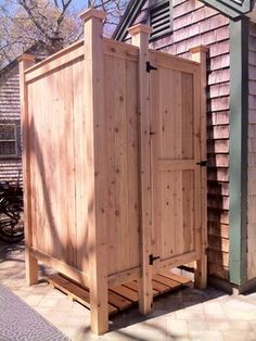 Standard Outdoor Cedar Shower - Cape Cod, MA  outdoor products
