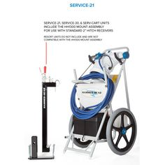 Hammer-Head Service Portable Commercial Vacuum from In The Swim Best Automatic Pool Cleaner, Countertop Water Filter, Upright Exercise Bike, Commercial Vacuum, Pool Equipment, Pool Cleaning, Pool Water, In Ground Pools