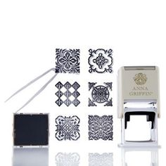 Anna Griffin Self Inking Stamper Ink pad & Stamps