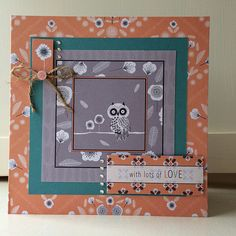 Crafting on holiday in the Lake District making Owl Folk cards - here's what I made! Owl Card, Lake District, Crafts To Do, Owls, Cardmaking, Card Ideas, Craft Projects, Kitten, Stamps