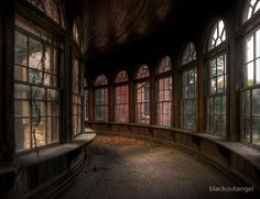 The abandoned Teton State Hospital