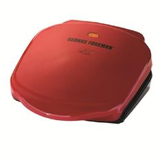 George Foreman Fixed Plate Grill Red * Check out more at the photo web link. (This is an affiliate link). Cooking Equipment, Food Service Equipment, Cool Kitchen Gadgets, Cool Kitchens, Best Electric Pressure Cooker, George Foreman Grill, Classic Plates, Grill Sale, Drain Away