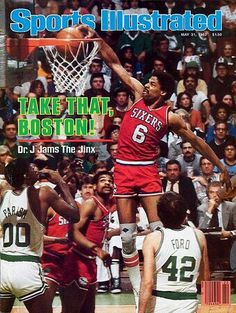 buy Julius Erving of The Sports Illustrated cover reprints Sports Magazine Covers, Robert Parish, Sports Illustrated Covers, Sports Page, Thing 1, Philadelphia, Nba, Athlete, Fitness