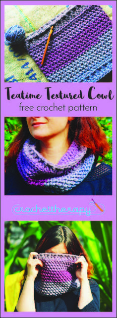 Chunky crochet cowl free pattern and photo tutorial! Chunky Crochet, Knit Or Crochet, Crochet Scarves, Crochet Shawl, Crochet Clothes, Crochet Stitches, Free Crochet, Crochet Gifts, Crochet Designs