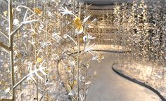 Secret garden: Kris Ruhs' organic installation at Galerie Alaïa | Art | Wallpaper* Magazine