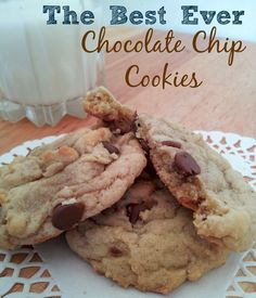 The BEST Ever Chocolate Chip Cookie Recipe