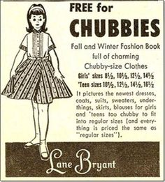 """Old Advertisement, I remember these. They were called """"Chubettes."""""""