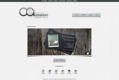 Site web ca-creation.com (v1) | CA Creation - Web design, GUI, Ressources Web Design