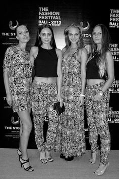 The Bamboo Blonde girls at The Fashion Festival Bali 2013. Bamboo Blonde produces its own label in Indonesia and China, and features clothing, accessories, body products and home-wear for women of any age, created by a team of International designers who are inspired by global travel & lifestyle. There are seven stores in Bali and two in Jakarta.
