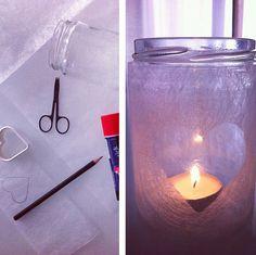 DIY tea light