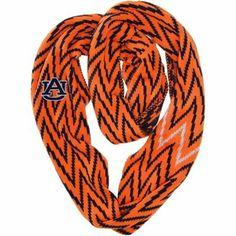 Auburn Tigers Ladies Infinity Chevron Scarf - Orange - Love!!!!