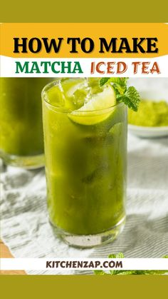 Homemade Iced Tea, How To Make Matcha, Making Iced Tea, Iced Tea Recipes, Recipe Boards, Perfect Party, Picnic, Lime, Fruit