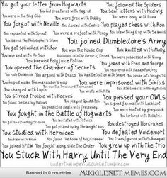 We are the Potter Generation! (No judgement at the fact that I teared up while reading this, right?)