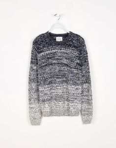OMBRE CABLE-KNIT JUMPER
