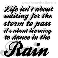 Favorite dance quote <3