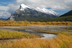Mt Rundle, Banff NP, Alberta, Canada