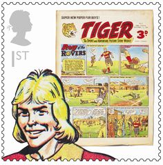 An old comic favourite. Also an example of Royal Mail´s inventive choices of topics.
