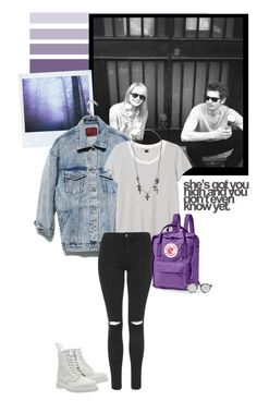 """I wanna be yours"" by ruchita ❤ liked on Polyvore featuring Monki, Topshop, Dr. Martens, Fjällräven, Illesteva and AllSaints"