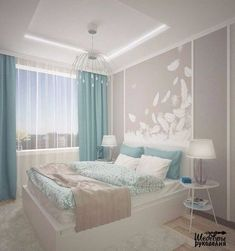 Bedroom design ideas - The bedroom is the most comfortable place to rest. Do not you let your bedroom fall apart with a mediocre design. Discover the inspiration of modern, cool, luxurious, beautiful bedroom designs, etc. Bedroom Color Schemes, Bedroom Colors, Home Decor Bedroom, Bedroom Ideas, Dream Rooms, Luxurious Bedrooms, Beautiful Bedrooms, Interior Design Living Room, Bedroom Designs