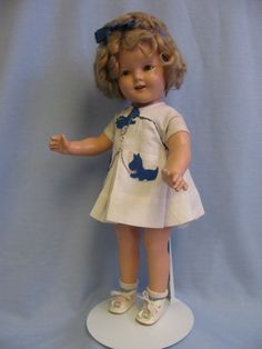 My Shirley Temple doll. I should have kept her.