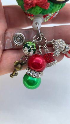 Who wants Disney Christmas Clay Badge ? #badgereel #disney #nurse #hospital #emt #lvn #cna #badges Minnie Mouse Christmas, Disney Christmas, Swipe Card, Christmas Clay, Badge Reel, Badge Holders, Badges, Sparkle, Create