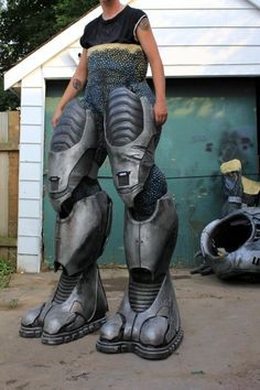& 7-Foot Tall Covenant Elite Costume | Costumes Cosplay and Video games