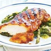 Grilled Brown Sugar Barbecue Chicken Breasts (marinate 6-8 hrs)
