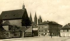 Klášter kolem roku 1930
