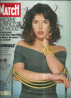 Princess Caroline of Monaco.-PARIS MATCH- N°2142.1990.