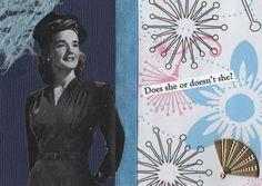 She Does! by Karen Utiger on Etsy