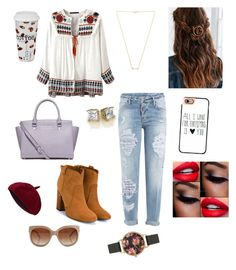 """""""Winter"""" by yaxaira on Polyvore featuring Dsquared2, Laurence Dacade, Wanderlust + Co, MICHAEL Michael Kors, Casetify, Könitz, STELLA McCARTNEY and Olivia Burton"""