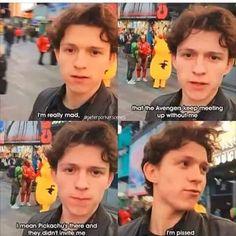 Tom throws shade at pikachu