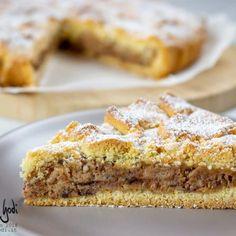 Torta mandorlata Mini Desserts, Dessert Recipes, Brownies, Muffins, Romanian Food, Pasta, Sweet Cakes, Coffee Cake, Italian Recipes