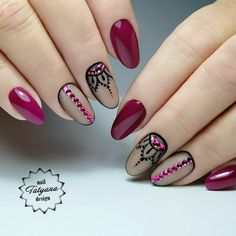 Épinglé par tatiana rodriguez sur uñas en 2019 ongles, ongles courts et ong Classy Nail Designs, Cool Nail Designs, Hair And Nails, My Nails, Indian Nails, Nagel Blog, Classy Nails, Nagel Gel, Types Of Nails
