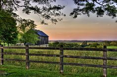 Wood Fence Barn View HFF by hardpan photo, via Flickr