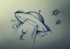 UFO tattoo by SHAKALone on DeviantArt