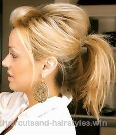 Check out this Messy Cute Ponytail Hairstyle for Medium Hair – Easy Everyday Hairstyles…  The post  Messy Cute Ponytail Hairstyle for Medium Hair – Easy Everyday Hairstyles……  appe ..