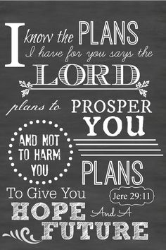 I know the plans I have for you says the LORD.png - File Shared from Box Printable Art