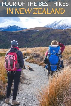 New Zealand is one of the most beautiful countries to go hiking in.