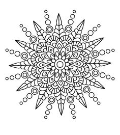 Spikey Mandala                                                                                                                                                     More