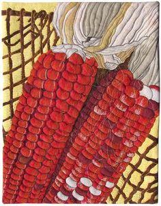 Indian corn ~ Susan Brubaker Knapp... WOW!