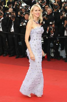 """Actress Naomi Watts attends the """"Cafe Society"""" premiere and the Opening Night Gala during the 69th annual Cannes Film Festival at the Palais des Festivals on May 11, 2016 in Cannes, France."""