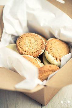 Orange Pecan Cookies Weihnachtsplätzchen - Orangen-Pecannuss-Kekse | relleomein.de #weihnachten #plätzchen #rezept