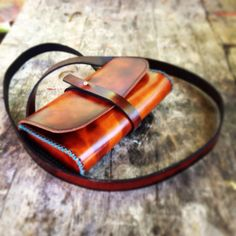Handmade Leather Clutch FREE SHIPPING by LoyalStricklin on Etsy, $95.00