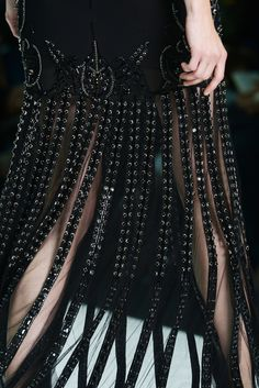 Roberto Cavalli SS 2013 Runway Show - Detail Fashion Shoot, Fashion Beauty, Womens Fashion, Fashion Glamour, Dark Fashion, Fashion Killa, Couture Fashion, High Fashion, Couture Details