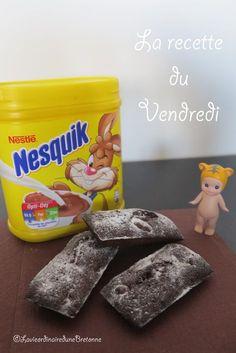 La vie ordinaire d'une bretonne: [La recette du Vendredi] Brownies avec du Nesquik